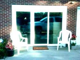 patio sliding glass doors average size of replace door with french cost glassdoor costco cashier
