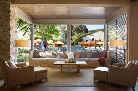 a seating area at carmel valley ranch