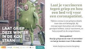 Laat je vaccineren tegen de griep en hou een bed vrij voor een  coronapatiënt - Laakdal