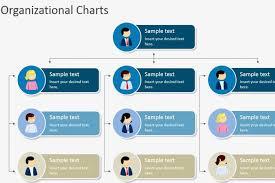 Hierarchical Organizational Chart Template