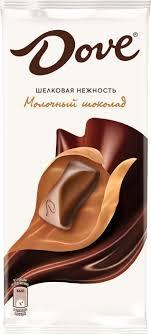 <b>Dove молочный шоколад</b>, 90 г — купить в интернет-магазине ...