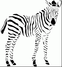 Small Picture brilliant zebra coloring pages with zebra coloring page