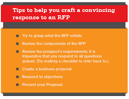 How To Respond To A Request For Proposal Rfp The Full