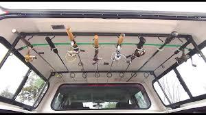 truck topper fishing rod rack utility rack welding