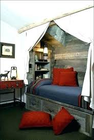 Top Bunk Tent Diy Ideas Made From Drop Cloths For Boys Decorating ...
