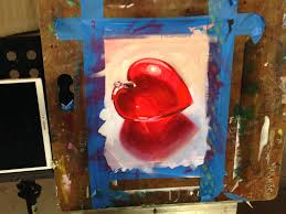 for your first oil painting exercise you ll follow along with beginner s school instructor cynda valle as you paint a still life of a glass heart