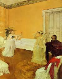 edgar degas la répétition de chant