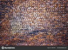 antique brick wall vintage texture of red stone blocks as backgr stock photo