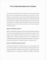 Business Non Compete Agreement Template Valid Confidentiality And ...