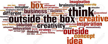 outside the box office. Think Outside The Box Word Cloud Concept. Vector Illustration Stock - 35369907 Office