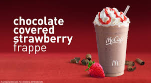 news mcdonald s new chocolate covered strawberry frappe
