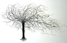 metal tree wall art sculpture on tree wall art metal sculpture artistic artwork detailed branch leaf