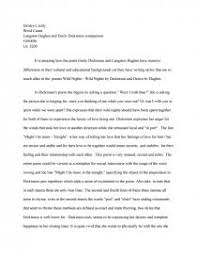 langston hughes and emily dickinson essays zoom zoom zoom
