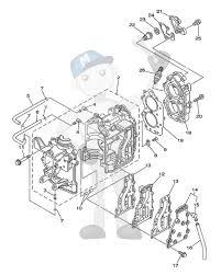 Interna motordelar yamaha 9 9f 15f e9 9c e15c
