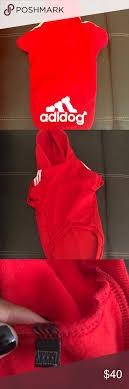 Red Adidog Adidas Hoodie Red Adidog Adidas Hoodie