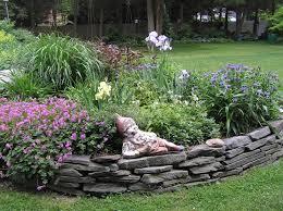 Decorative Stones For Flower Beds Bedding Garden Bed Edging Ideas Home Decoration Best Flower Ed