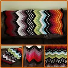 knit missoniinspired blanket