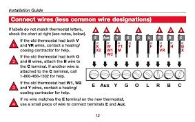 how wire a honeywell room thermostat honeywell thermostat wiring how to wire a honeywell thermostat with 5 wires at Honeywell Thermostat Rth2300 Wiring Diagram