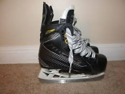 Bauer Supreme Size Chart Details About Size Y 10d Bauer Supreme 160 Youth Hockey Skates Rarely Used