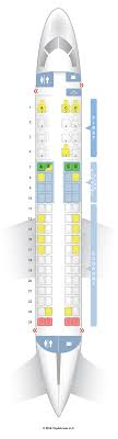 United Airlines Seating Chart Embraer 175