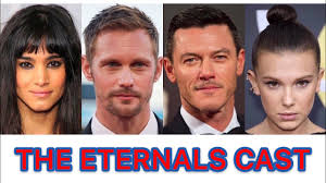 THE CAST FOR THE ETERNALS MOVIE - YouTube