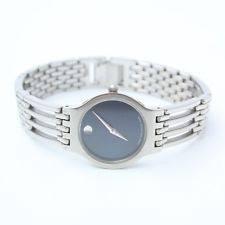 mens swiss made movado esperanza blue museum dial 0604122 watch ladies swiss made authentic movado esperanza 0604123 black museum dial watch