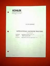 kohler engine 12 hp model k301aqs parts manual 5 00 picclick kohler engine 12 hp model k301aqs parts manual