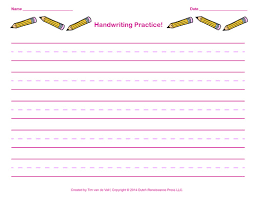 handwriting practice paper for kids blank pdf templates printable handwriting paper