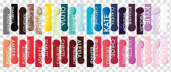 Gel Nails Color Chart Cosmetics Gel Transparent Background