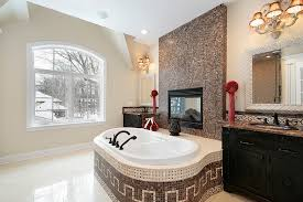 20 master bathrooms with fireplaces for 2018