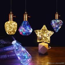 Led Light Bulb Starheartdiamond Rgb Led Lamp E27 110v 220v