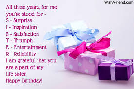 Best Sister Quotes Enchanting Birthday Wishes For Sister