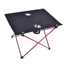 HooRu Roll up <b>Folding Table Beach</b> Fishing Portable Foldable ...