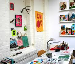 office pop. download pop art decorating home office ideas brick wall interior design and decoration