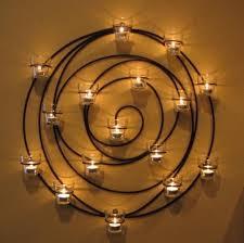spiral votive candle holder large