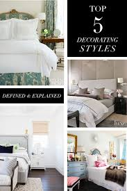 Small Picture Top 5 Decorating Styles and Bedroom Themes