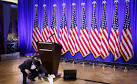 "R�sultat de recherche d'images pour ""Centenares de personas esperan la rueda de prensa de Trump"""