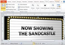 Movie Powerpoint Template Hollywood Powerpoint Template The Highest Quality