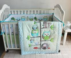 whole happy owls and friends cute ba crib bedding set cot set regarding popular property cot bedding sets prepare