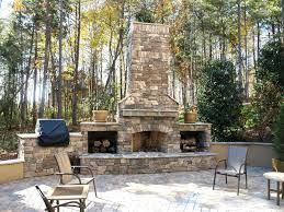 outside fireplace ideas er surround diy design with tile for coolest outdoor fireplace with tv above