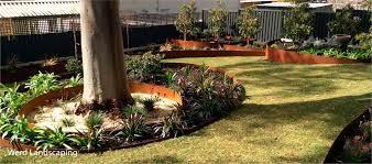 we supply and install steel garden edging