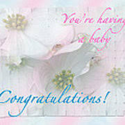 Congratulations Poster Expecting Baby Congratulations Card Poster
