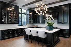 Black Kitchen Cabinets Design Recous
