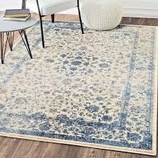 rugs area rugs carpets 8x10 rug oriental persian big floor large cool blue rugs