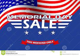 Vector Memorial Day Sale Banner Template Design Memorial