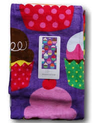 cool beach towels for girls. NWT Beach Towel Purple Cool Cupcake 60x28 Girls Soft All Cotton Swim Cupcakes #Mainstays Towels For