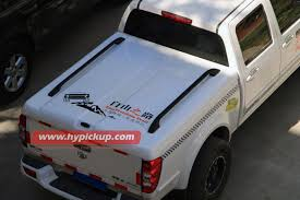 customized jmc d max fiberglass hard tonneau cover for truck bed protection for pickup tonneau cover manufacturer from china 102435565