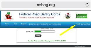 vehicle registration verify