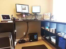 wrap around office desk. standing office desk ikea modular wrap around