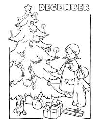 Small Picture December Coloring Pages December Christmas 2 Coloring Pages